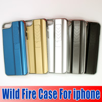 Wholesale Hot Sale Lighter Cigarette Wild Fire Case for iPhone S G Lighter Case Chargeable Cover Case Lighter Cigarette goodwillbiz