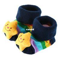 baby sock shoes - pair Baby Cute Three dimensional Animal Cartoon Soft Anti slip Socks Slipper Shoes Boots FreeShipping Brand New407