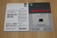 64gb pro clase Baratos-PRO 128GB 64GB 32GB tarjeta micro de la tarjeta del SD TF de la tarjeta de memoria de la clase 10 Micro SD SDHC tarjeta para la impresión de la insignia modificada para requisitos particulares PC de la tableta del teléfono móvil
