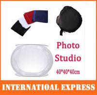 Wholesale Photo Studio soft box Shooting Tent Softbox Cube Box x cm photo light tent portable bag Backdrop hotsale
