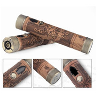 Wholesale vaporizer Pen Wood new arrival wooden Electronic cigarette Kit match wooden atomzier wood e cig wooden