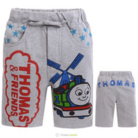 Shorts Boy Summer Kids Cartoon Clothing Baby Boys Casual short pants cotton shorts train children beach wear baby summer clothes 6pcs lot