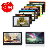 Wholesale US Stock iRuLu Q88 quot Inch GB GB Tablet PC A23 Android MB GHZ Web Dual Camera Dual Core Capacitive Screen Wifi MID Q8