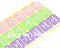 Wholesale THANK YOU Sticker Labels Seals Diameter cm SS