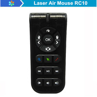 Wholesale Laser Air Mouse Measy RC10 G Wireless Remote Control For Android Smart TV Box Desktop Laptop Mini PC Newest