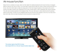 Wholesale 2 GHz Wireless Laser Air Mouse With Wireless Keyboard Fly Air Mouse IR Remote Control Measy RC10 For Computer PC Tablet TV BOX Best price