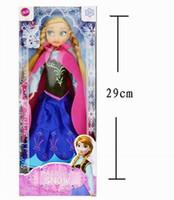 Wholesale New Cute Frozen Anna Elsa Mini Baby Doll Frozen Princesses Doll cm Action Figures Frozen Dolls