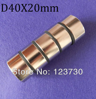 Wholesale Craft Model Powerful Strong Rare Earth NdFeB Block Magnet N38 Magnets D40X20 mm
