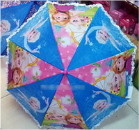 New Arrival!2014 Cartoon Frozen Series Children Umbrellas Ki...