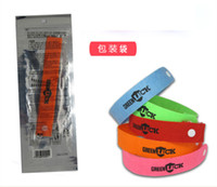 Wholesale Mosquito Repellent Band Bracelets Anti Mosquito Pure Natural Baby Wristband Hand Ring hot sale