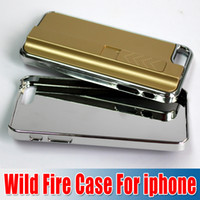 Wholesale Lighter Cigarette Wild Fire Case Cover for iPhone S Lighter Case Chargeable Cover Case for iPhone s Lighter Cigarette churchill