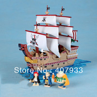 "Finished Goods Roles Frozen One Piece 15pcs 16cm 6.3"" Japanese Anime One Piece PVC Action Figures Shanks Red Hair Pirate Ship Toys Doll Collection Hot sale"