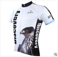 Wholesale SQ Cycling jerseys Men s short sleeve cycling jerseys discovery Shall the eagle fly