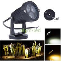 Wholesale 2Pcs Hottest W Outdoor LED Garden Lawn Light V for Landscape Lighting RGB Warm Cold White Waterproof IP67 Floodlight