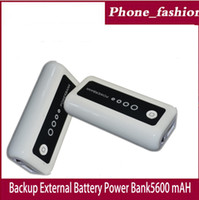 Power Bank Universal For US 5600mAh smart Portable Backup Battery External Power Bank Charger For Universal Mobile Phone,PSP, camera,Mp3 4 playe ETC 5600 ma