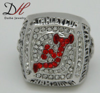Wholesale New hot New and Jersey Devils championship alloy rings