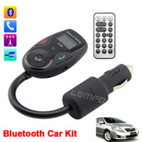 FM Transmitter FM Transmitters Yes Bluetooth FM Modulator Car MP3 Player Wireless FM Transmitter Car Kit LCD Hands-Free Talk A2DP USB Remote Control USB SD MMC New