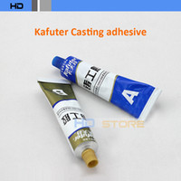Plastic Other Adhesives Yes 3pcs lot Genuine kafuter Caster glue Industrial repair agent casting adhesive Fill trachoma glue Resistant High temperature 100g