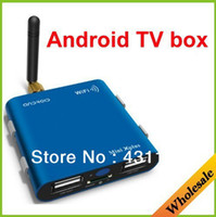 Wholesale fashion new style good price and multifunction with wifi Mini size android TV box for have rest and work