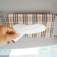 100% Cotton Bamboo ECO Friendly Car tissue box sun-shading board tissue box set car tissue box car supplies portable tissue