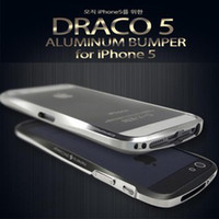 Dirt-resistant aluminum luxury goods - Dual Color TWO TONE Good Quality Luxury DRACO V Deff CLEAVE Aluminum Bumper Case All Metal Cleave Case for Iphone with Retail Package