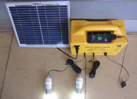 Wholesale W Portable Solar Home System with LED Bulb