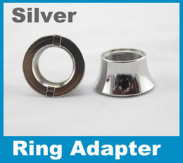 Colorful Beauty Rings ego battery thread cone collar fit Vivi nova DCT U-DCT adapter 510 ego threading