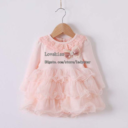 Wholesale Baby Dresses Girls Party Dresses Princess Dress Children Clothing Lace Dresses Infant Dress Flower Girl Dresses Shirt Dress Child Clothes