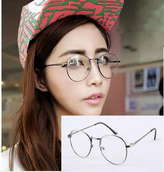 new fashion retro metal glasses frame women men plain mirror eyewear glasses frame optical frames from boysgirls 528 dhgatecom