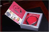 Wholesale HBS Tone Wireless Stereo Headset HBS HBS Bluetooth Neckband Earphone Music headphone