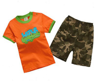 Cheap Boy summer sets Best Summer 18M.2T.3T.4T.5T.6T for 1-6T. clothing sets