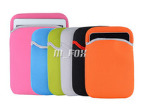 Wholesale Colorful Laptop Sleeve Bag Portable Soft Cloth Waterproof Case Tablet Liner Bags For iPad mini mini Retina inch Screen Tablet PC