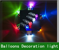 T8 22w SMD 3528 20pcs Free Shipping LED Party Lights For Paper Lanterns Balloons Floral Decoration light 6COLORS