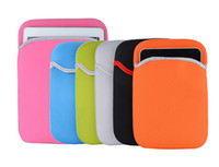 Wholesale Soft Neoprene Laptop sleeves Case Pouch Bag cover for ipad mini inch Screen table PC Brand New