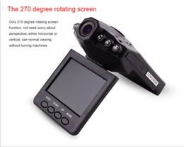 Wholesale new Hot selling Car Dash cams Car DVR recorder camera system black box H198 night version Video Recorder dash Camera IR LED