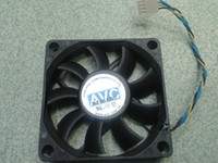 Wholesale 7015 four wire single CPU smart fan speed control V ball fan AMD fan