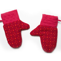 Wholesale The lotus seven new high temperature microwave Oven Mitts Kitchen Mitts anti scald models