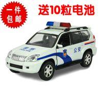 5-7 Years Bus Metal Alloy police car fire truck 110 acoustooptical WARRIOR alloy car metal car model toys cars