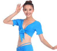 Sexy Costumes Animal Cotton sexy Summer Fashion Women's Tribal Belly Dance Costume Choli Short Top Bolero Shrug # L034920
