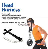 New TK0864# Black Hot Selling Nylon Head Harness Neck Strength Head Strap Weight Lifting Exercise Fitness Belt TK0864 b011