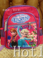 Wholesale DHL new FROZEN children school bags baby girls schoolbag Children Backpack schoolbag cartoon backpack kids bags
