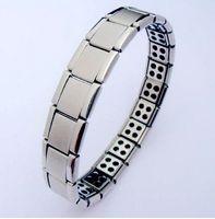 Wholesale Sale shipping Energy Magnetic Titanium Germanium Bracelet nano bracelet