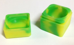 Wholesale Brand new high quality silicone jars dab lego silicone non stick container