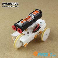 Wholesale DIY electric materials diy robot kit tricycle barrowload rc robots amp animals robot kit407