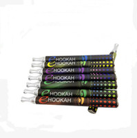 mix flavors   2014 E Hookah Pen Shisha Colorful Crystal Light Cheap Mini Hookah Pen E Hookah Pen 800Puffs