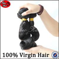 "Brazilian Hair Loose Wave Under $100 Brazilian virgin hair 100% human hair bundles New Star virgin Brazilian loose wave virgin hair 3pcs lot 8""-30"" janet collection remy hair"