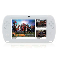 Wholesale Megafeis quot Screen Android Portable Game Console player smart w Camera Wi Fi HDMI White GB pad tablet PC
