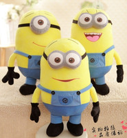 Wholesale 50CM Big Size D Eyes Despicable ME Movie Plush Toy Inch Minions Toys Children Dolls