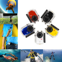 Wholesale 2014 hot Full HD Waterproof Camera P Sports Helmet Action Mini Video Camera SJ1000 Car DVR Bike Surfing Outdoor Sport