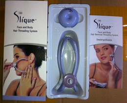 Wholesale Slique Spa quality Face And Body Hair Threading Removal System For Women remover